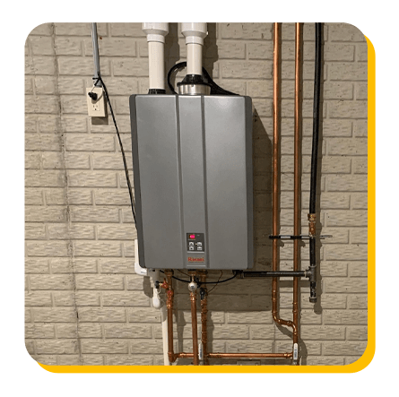 Rinnai Tankless Water Heater - World Class Services